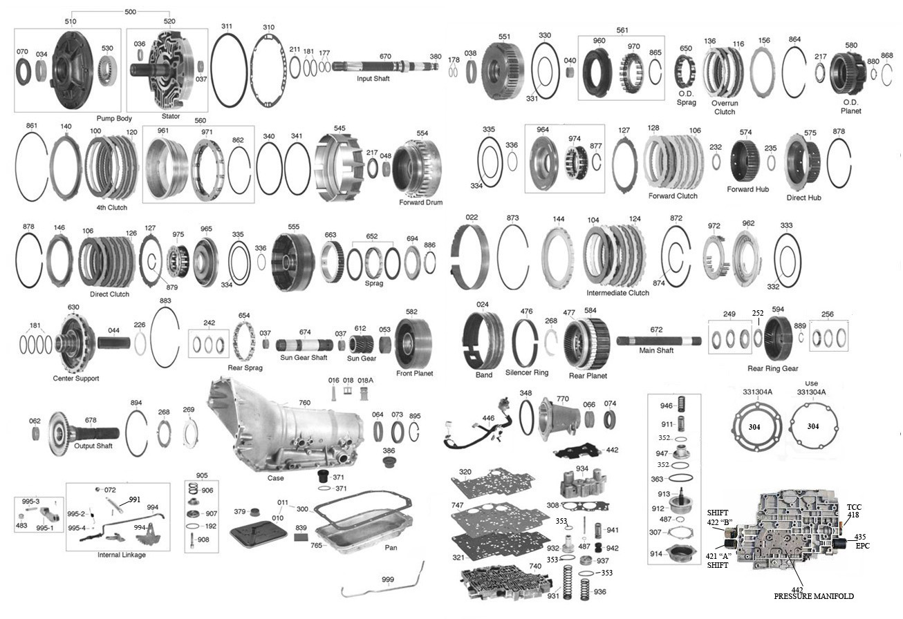 Trans parts online 4l80 4l80 transmission parts click on image to zoom pooptronica