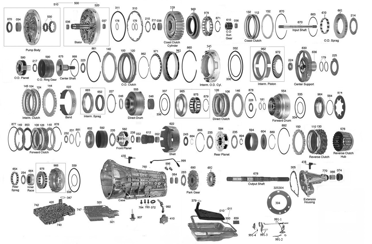 Tpcat on ford parts breakdown diagram