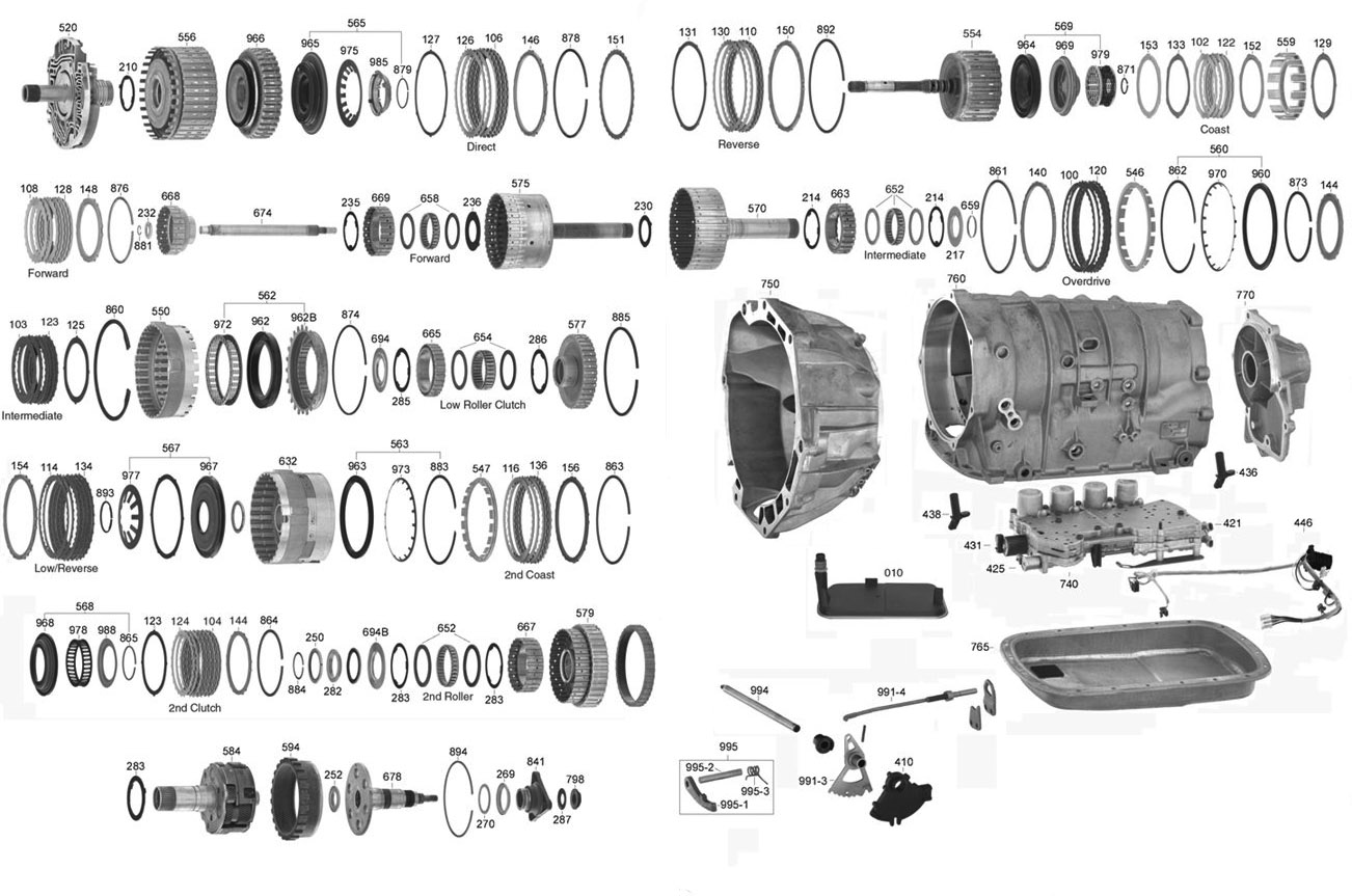 Trans parts online 5l40e 5l40e transmission parts click on image to zoom pooptronica
